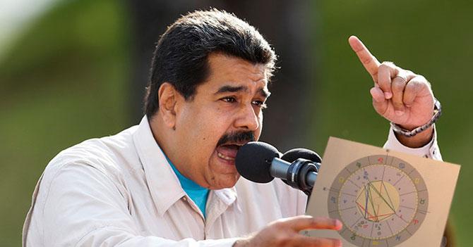 """Maduro: """"Situación del país se debe a Mercurio Retrógrado"""""""