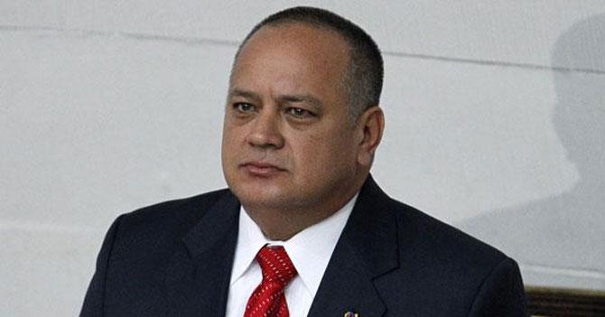Diosdado molesto con el WSJ porque lo llamó el 2do hombre más poderoso de Venezuela