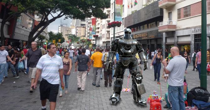 Blindaje de cuerpo completo cada vez más popular en Venezuela