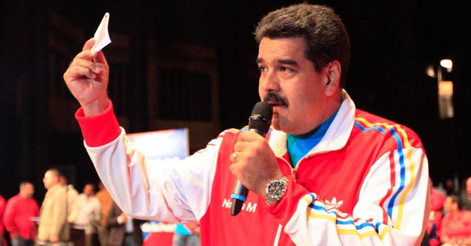 """Maduro: """"El CNE me entregó el historial de internet de todos ustedes"""""""