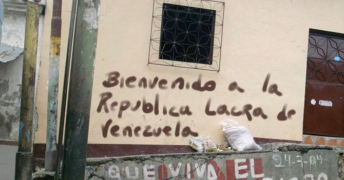 Malandros venezolanos fundan República Lacra de Venezuela