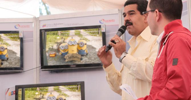 Maduro afirma que no entendió película de los Minions