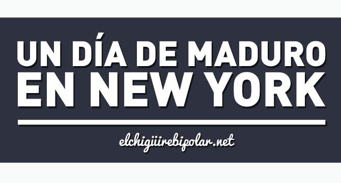 En exclusiva: Itinerario de Maduro en Nueva York