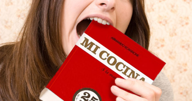 Por fuerte escasez Armando Scannone pública libro comestible