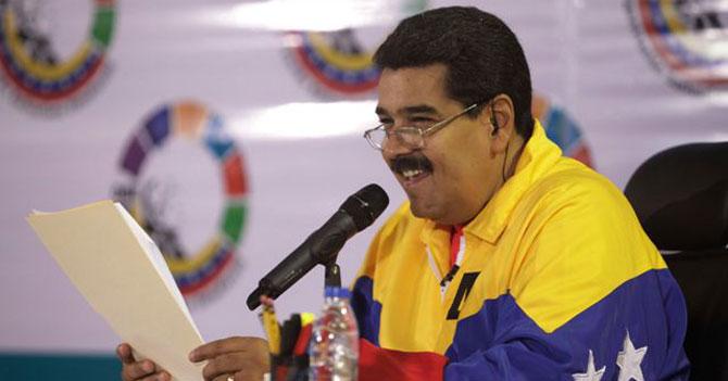 """Maduro se dirige a los venezolanos: """"Ustedes sí se quejan, de pana"""""""