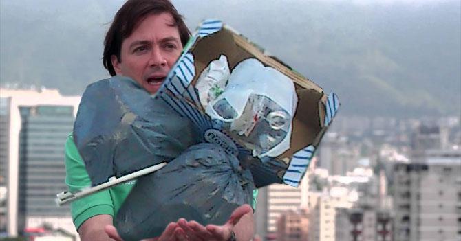 Alcalde de Chacao prohíbe grafittis para poder apreciar mejor la basura