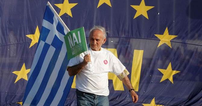 Grecia decide en referéndum que quiere dinero gratis