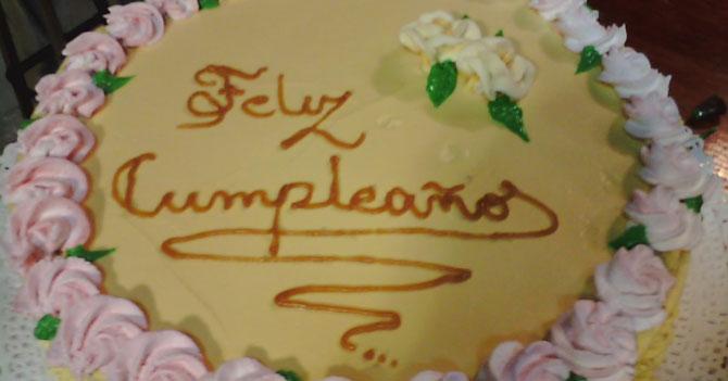 Hoy, hace 61 años, se conseguía azúcar, leche y harina para hacer una torta