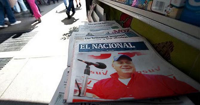 TSJ ordena a El Nacional publicar foto de Diosdado sonriendo en primera plana