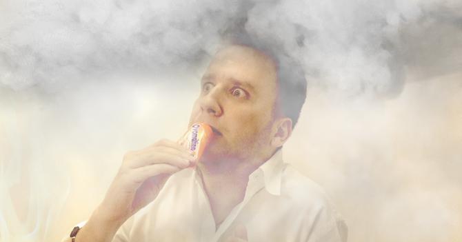 Hombre sobrevive incendio respirando aire en tubo de Ovomaltina