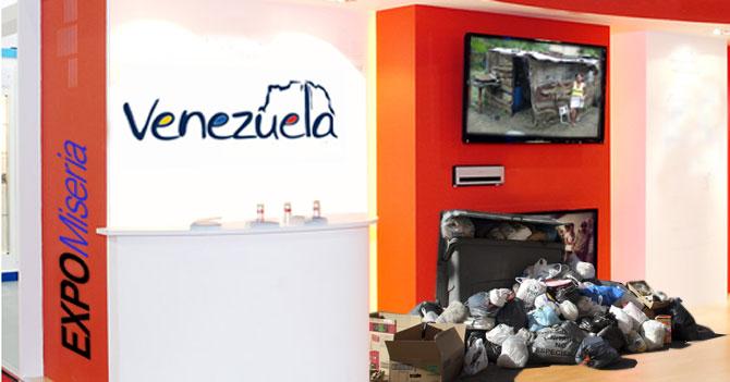 Venezuela elegida como sede del ExpoMiseria 2015