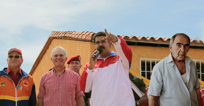 Maduro viaja a Juan Griego a pedirle real a comerciante turco