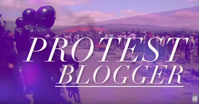 Reporte Semanal - Protest Blogger
