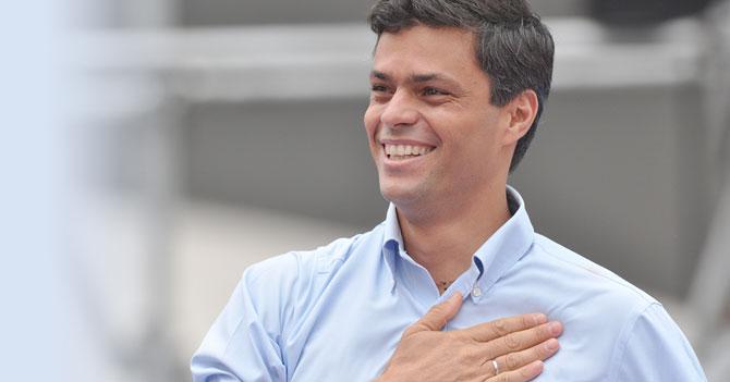 Leopoldo López es liberado