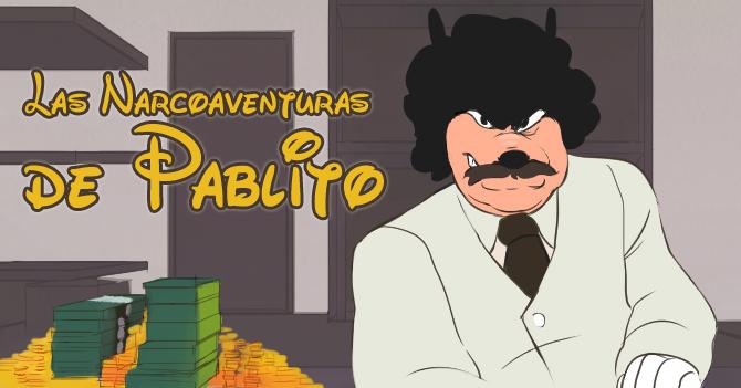 Disney estrena serie animada sobre Pablo Escobar