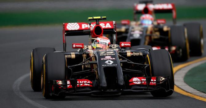 Lotus paga 46 millones para que PDVSA no mande más a Pastor Maldonado