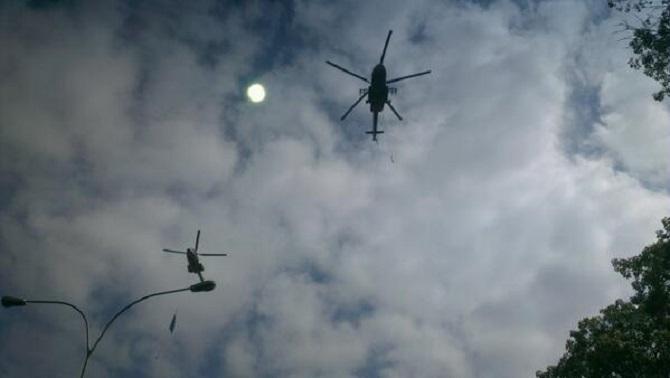 Ministro de Infraestructura confirma que tráfico de helicópteros sobre Caracas es fluido