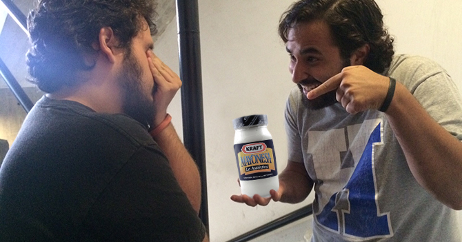 Hipster maracucho asegura que Kraft es mejor mayonesa que Mavesa