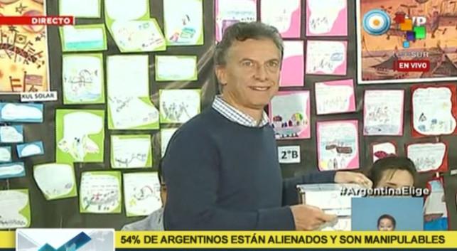 Telesur: 51% de argentinos están alienados y son manipulables