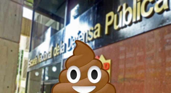 Gobierno nombra al emoji del pupú como nuevo Defensor Público
