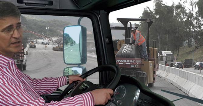 Haiman El Troudi comienza a desmontar elevados, puentes y ampliaciones