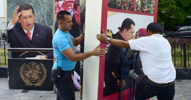 """Maduro: """"El retiro de los cuadros de Chávez es la peor tragedia desde Vargas"""""""