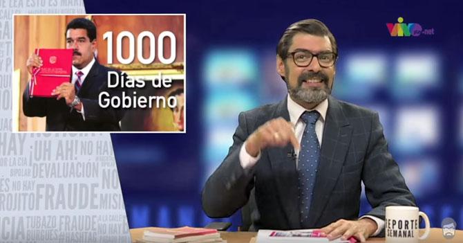 Reporte Semanal - 1000 días de gobierno