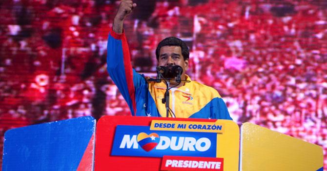 Por baja popularidad del Gobierno, Maduro considera lanzarse a Presidente
