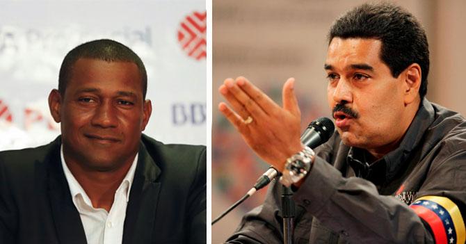 """Maduro pide en cadena nacional renuncia de """"Chita"""" Sanvicente"""