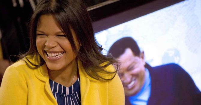 """María Gabriela Chávez: """"No me afecta suspensión de vuelos CCS-NY porque ya vivo en Nueva York"""""""