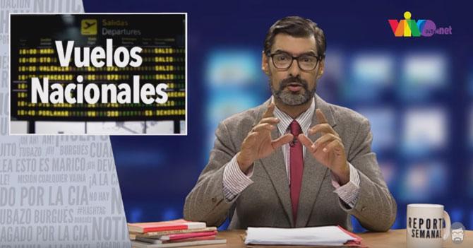 Reporte Semanal - Vuelos Nacionales