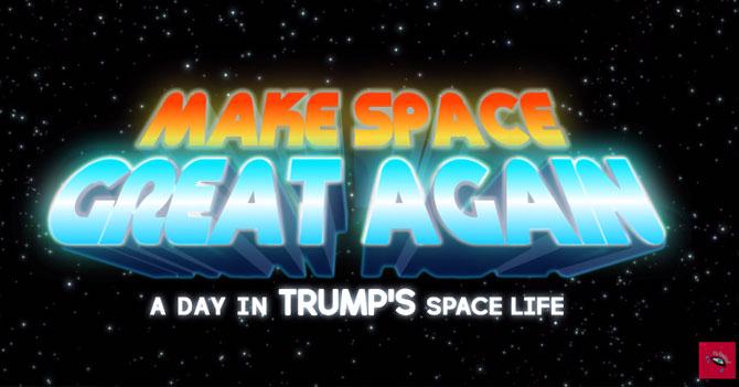 HEADS OF SPACE - Un día en la vida de Trump (Ep.05)