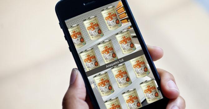 Gobierno saca filtro de Snapchat que llena estantes vacíos