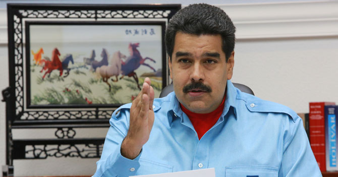 Maduro finalmente presenta pruebas de que está fastidioso
