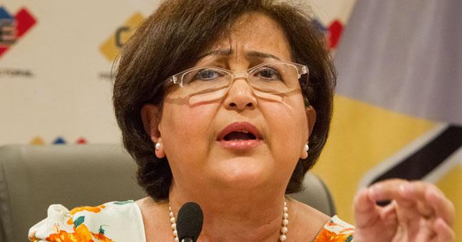 """CNE: """"Solicitud de revocatorio le faltó tener el Poder Electoral a su favor"""""""