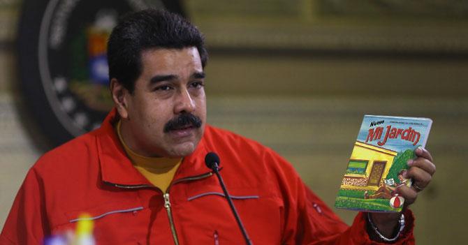 """Maduro confiesa que lleva 3 años pensando que """"Mi Jardín"""" era el Plan de la Patria"""