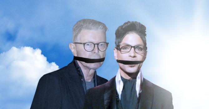 En tan solo 5 minutos Picure secuestra a Prince y a David Bowie