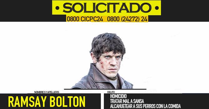 Desesperado por popularidad Maduro ordena OLP para matar a Ramsay Bolton