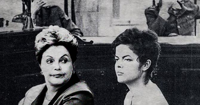Dilma visita a Dilma del pasado y le pide que robe con más cautela