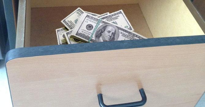 Merentes muda reservas internacionales a la gaveta de arriba de su arturito