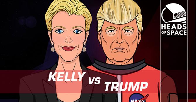 HEADS OF SPACE - La Entrevista de Trump (Ep. 07)