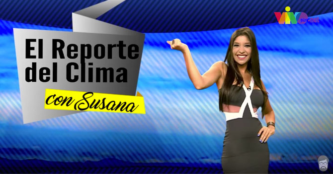 Reporte Semanal: El Reporte del Clima con Susana