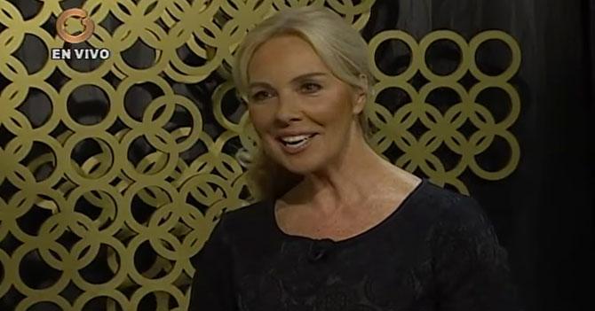 Diana D'Agostino solicita ayuda humanitaria de maquillaje y secadores de pelo