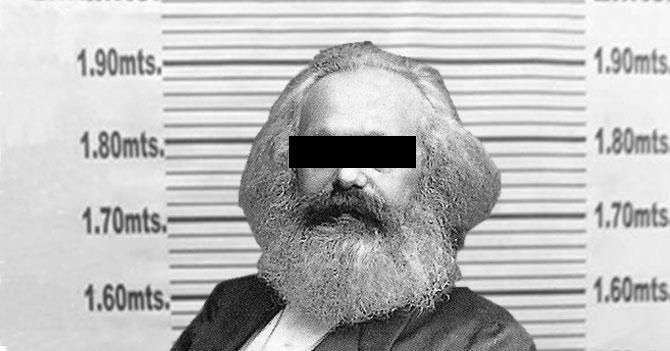 Gobierno anuncia detención del responsable de protestas: Karl Marx