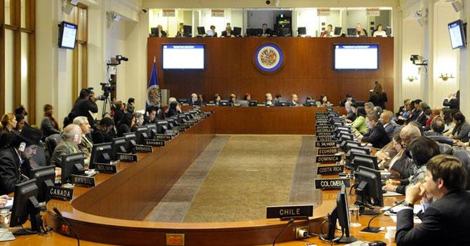 Sesión extraordinaria de la OEA cumple 24 horas discutiendo caso del gorila
