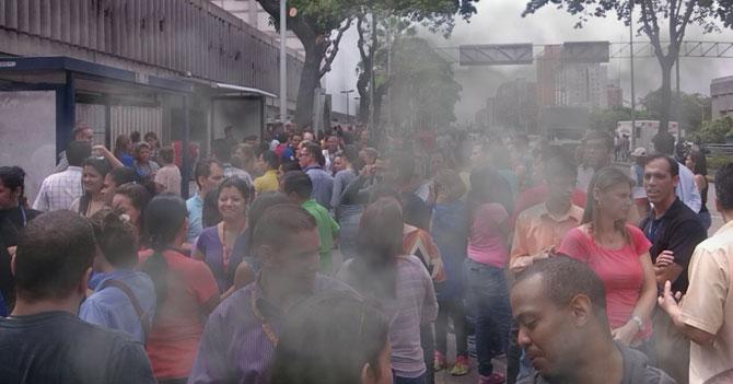 Guardia Nacional reprime simulacro de sismo por error