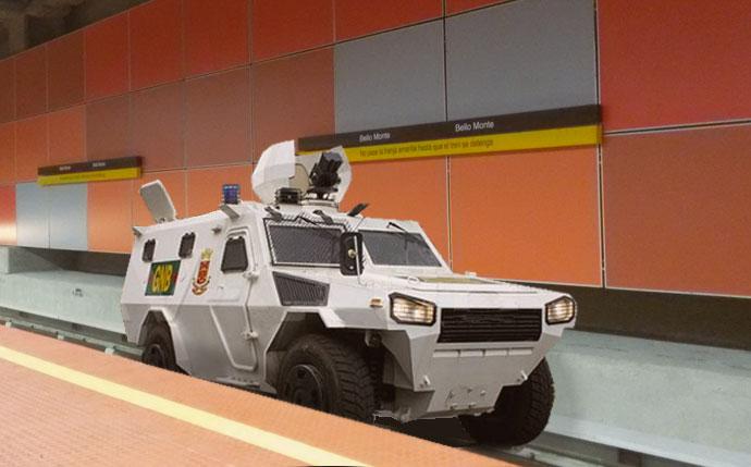 Metro de Caracas anuncia que convertirá 5 estaciones en estacionamiento para tanquetas antimotines