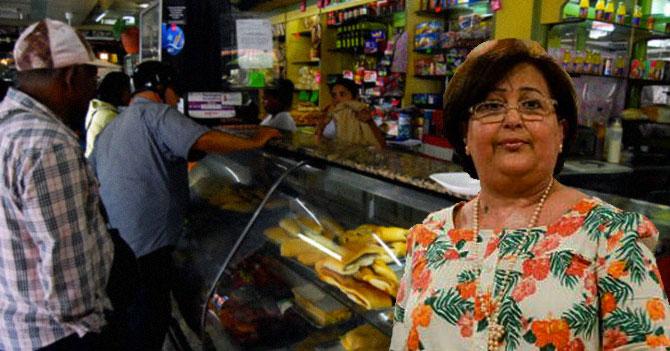 Tibisay Lucena molesta porque le piden ir a Los Teques para cambiar su orden de con leche a marrón