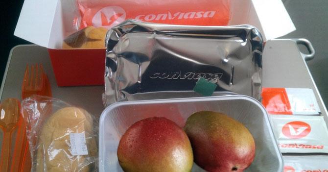 Conviasa comienza a servir mango en sus vuelos