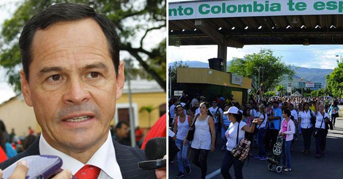 """Vielma Mora: """"Señoras cruzaron frontera para restregarle a colombianos la belleza de la mujer venezolana"""""""